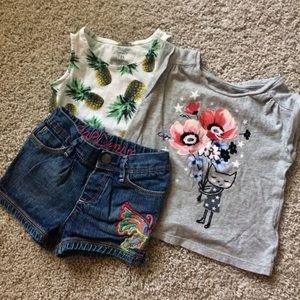 *BUNDLE* girls summer clothes